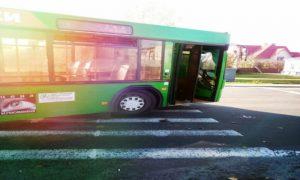 Автобус сбил мужчину в Пинске, фото, ГАИ