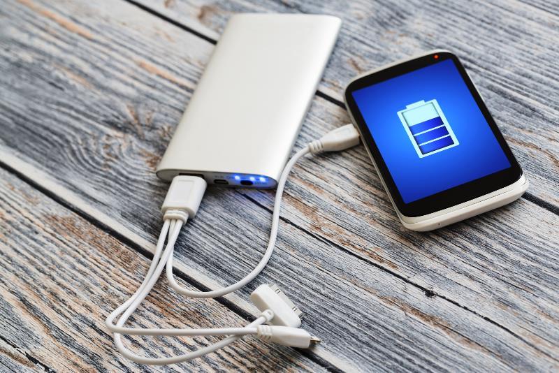 портативное зарядное - фото