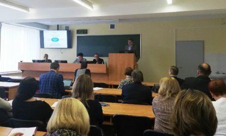 опыт создания и развития кластерной системы - фото, семинар в ПолесГУ