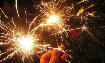 Бенгальские огни - фото