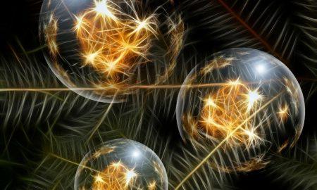 Светящийся шар - фото