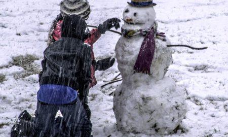 Снеговик - фото