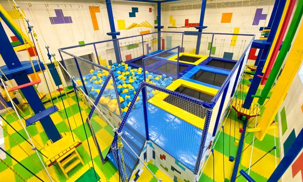 развлекательный центр «Тетрис» открылся в Пинске - отдых с детьми