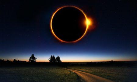Солнечное затмение - фото