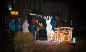 Празднование новогодней ночи в Пинске - фото