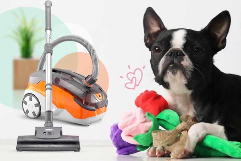 пылесос для уборки шерсти животных - фото