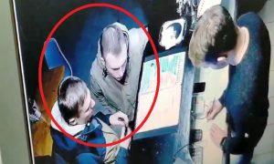 милиция ищет вандалов - фото