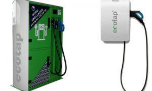 особенности зарядных станций для электромобилей Ecotap - фото