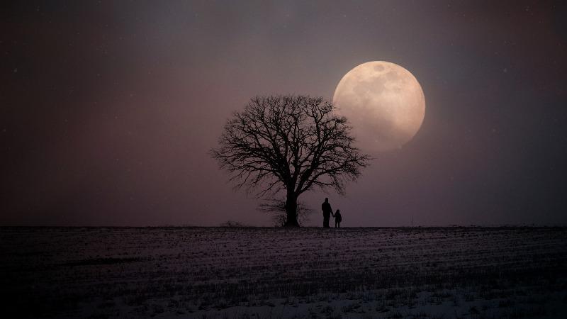 Луна - фото