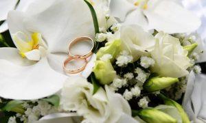 букет невесты - фото