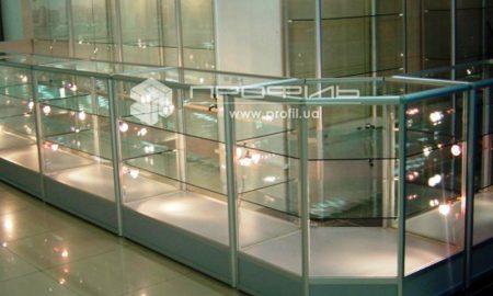 Стеклянные витрины - фото