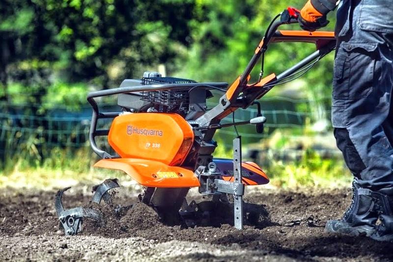 Садовые мотокультиваторы - фото