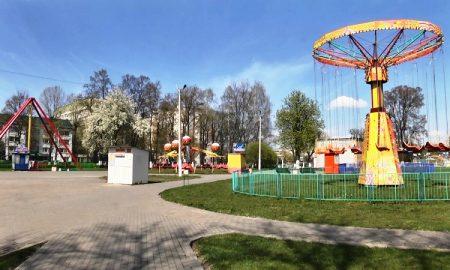Парк Пинска - фото