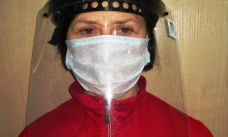 экранные маски для медиков - фото