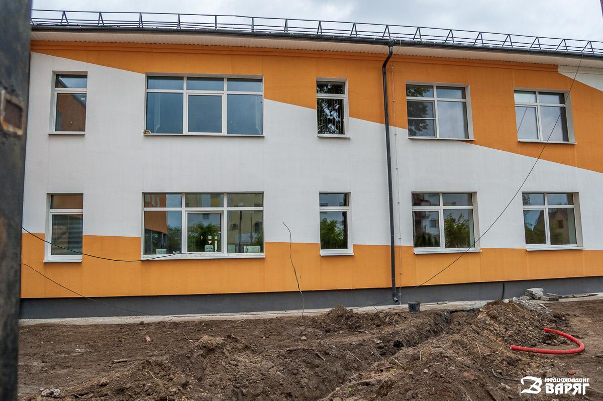 реконструкция онкологического диспансера в Пинске - фото