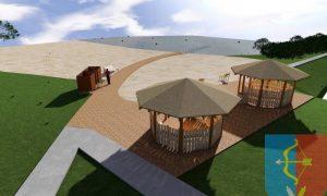 Проект пляжа - фото