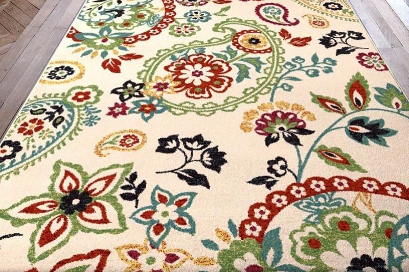 Уход за шелковым ковром - фото