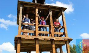 Первые туристы на экотропе «Озеро Блудное» - фото