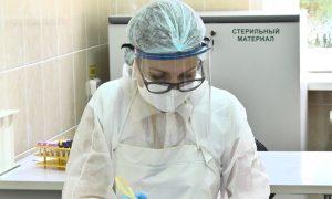 Тест на коронавирус - фото