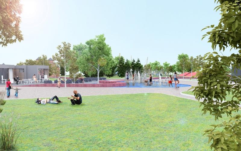 Детский парк - фото