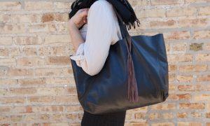 сумка-шоппер - фото