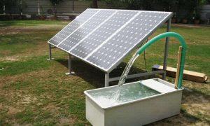 Системы водоснабжения на солнечных батареях - фото