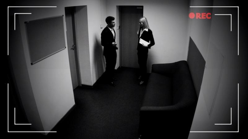 видеонаблюдение в офисе - фото