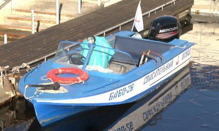 Спасательный катер - фото
