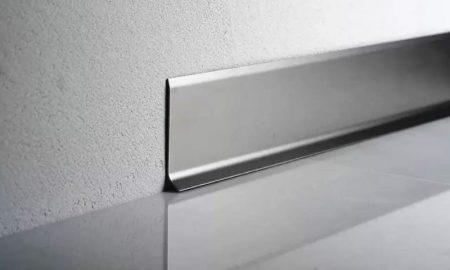 плинтус из алюминия - фото