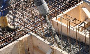 бетон для заливки фундамента - фото