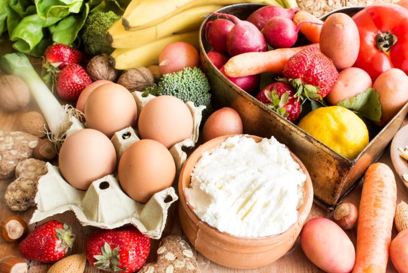 Продукты в которых содержится Витамин B