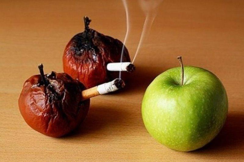 Как бросить курить: здоровое питание