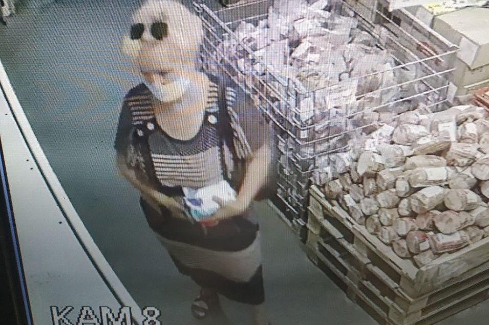 хищение в магазине «Светофор» в Пинске, фото Пинского ГОВД