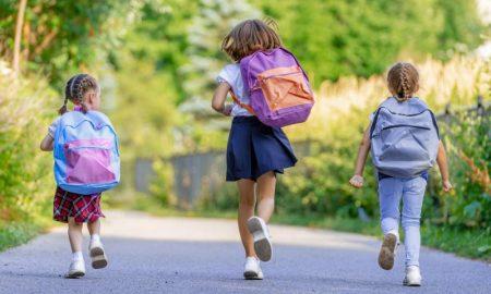«Дети идут в школу», фото
