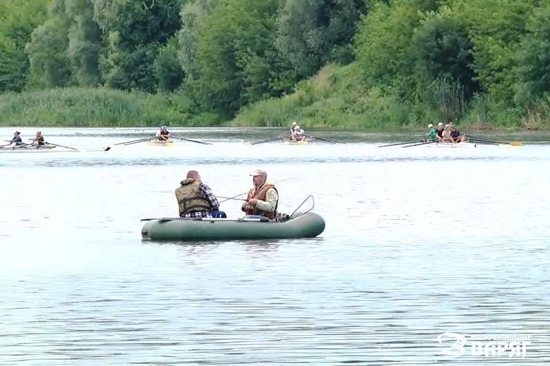 Трудное лето, Пинск, река, рыбалка
