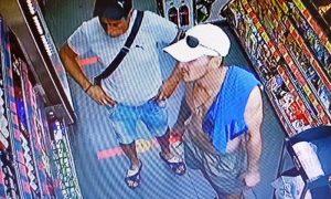 Хищение в «Копеечке» в Пинске: милиция ищет двух мужчин