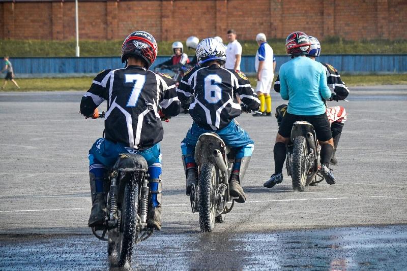 второй тур первенства Беларуси по мотоболу - фото