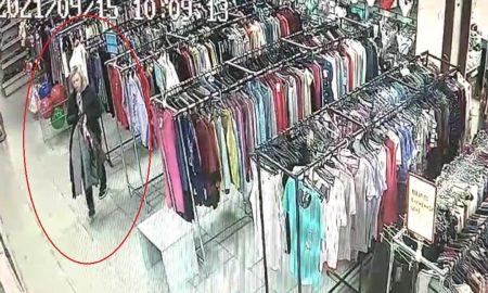 похитила куртки из магазина в Пинске, фото