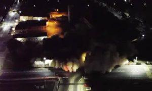 взрыв в Пинске - фото