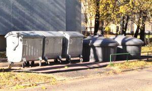 Мусорный контейнер - фото
