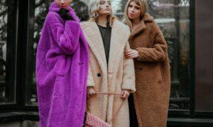 цветное пальто